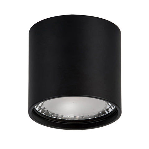 HV5802-BLK - NELLA Black 7w Surface Mounted LED Downlight