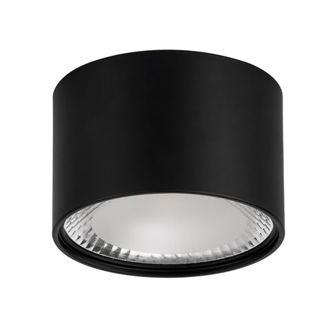 HV5803-BLK - NELLA Black 12w Surface Mounted LED Downlight