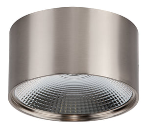 HV5805W-SCH - Satin Chrome LED Surface Mounted Round Downlight