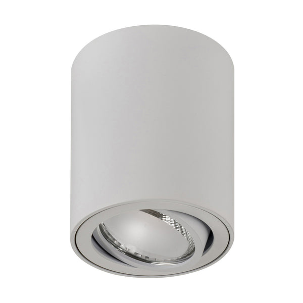 HV5812-WHT - NELLA 7w LED White Adjustable Surface Mounted Downlight