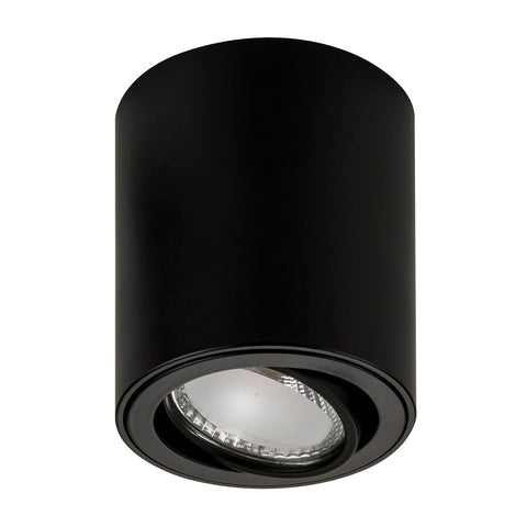 HV5812-BLK - NELLA 7w LED Black Adjustable Surface Mounted Downlight