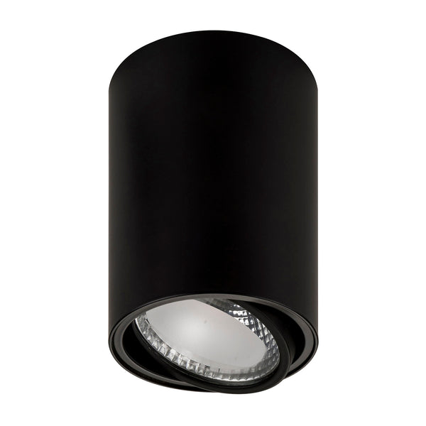 HV5813-BLK - NELLA 12w LED Black Adjustable Surface Mounted Downlight
