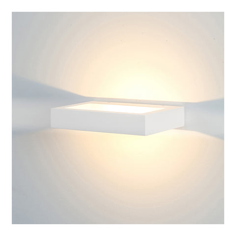 HV8065C - Shimmer Plaster LED Wall Light