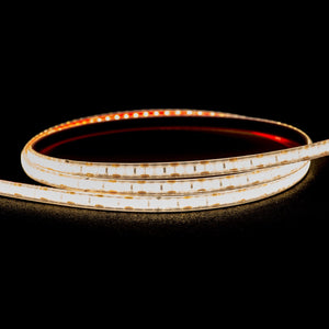 HV9716-IP54-120-3K-5M - 9.6w 12v DC IP54 LED Strip 3000k 5m Roll