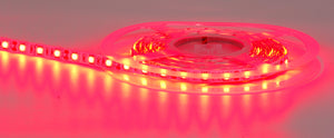 HV9755- Flexible Red IP20 14.4w 12v DC LED Strip 5m Length