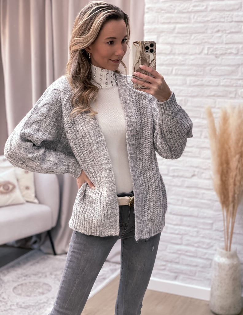 Bling bling sweater white