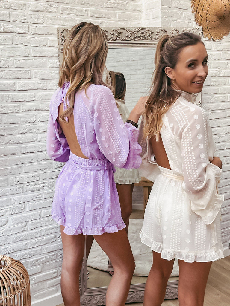 The one playsuit lila