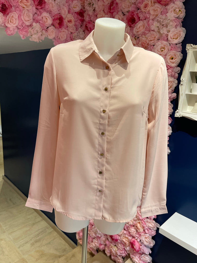 Make heads turn blouse pink STOCKSALE 21