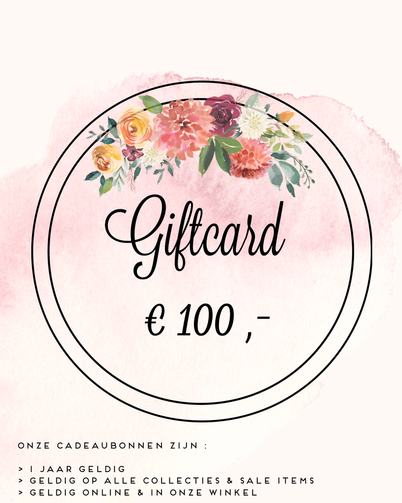 Giftcard 100€