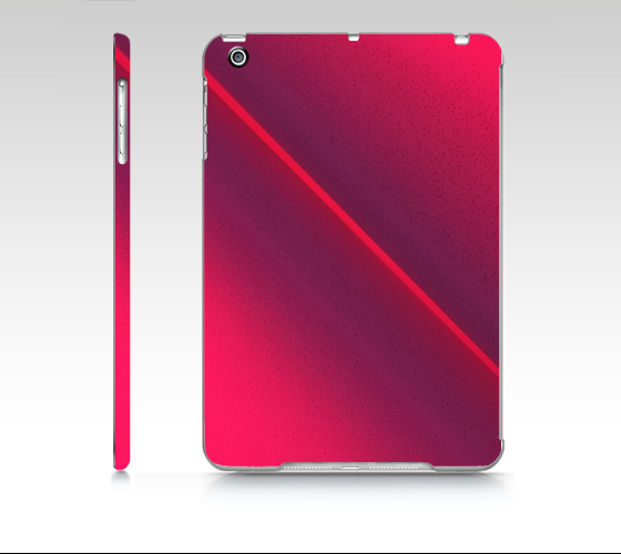 Pink Beam iPad mini case