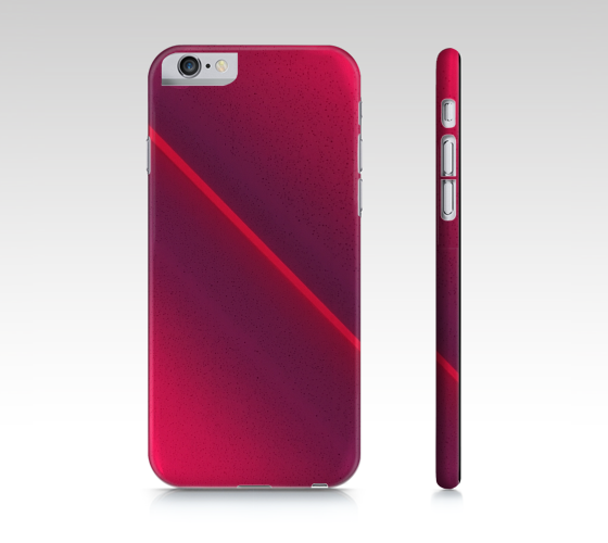 Pink Beam iPhone case