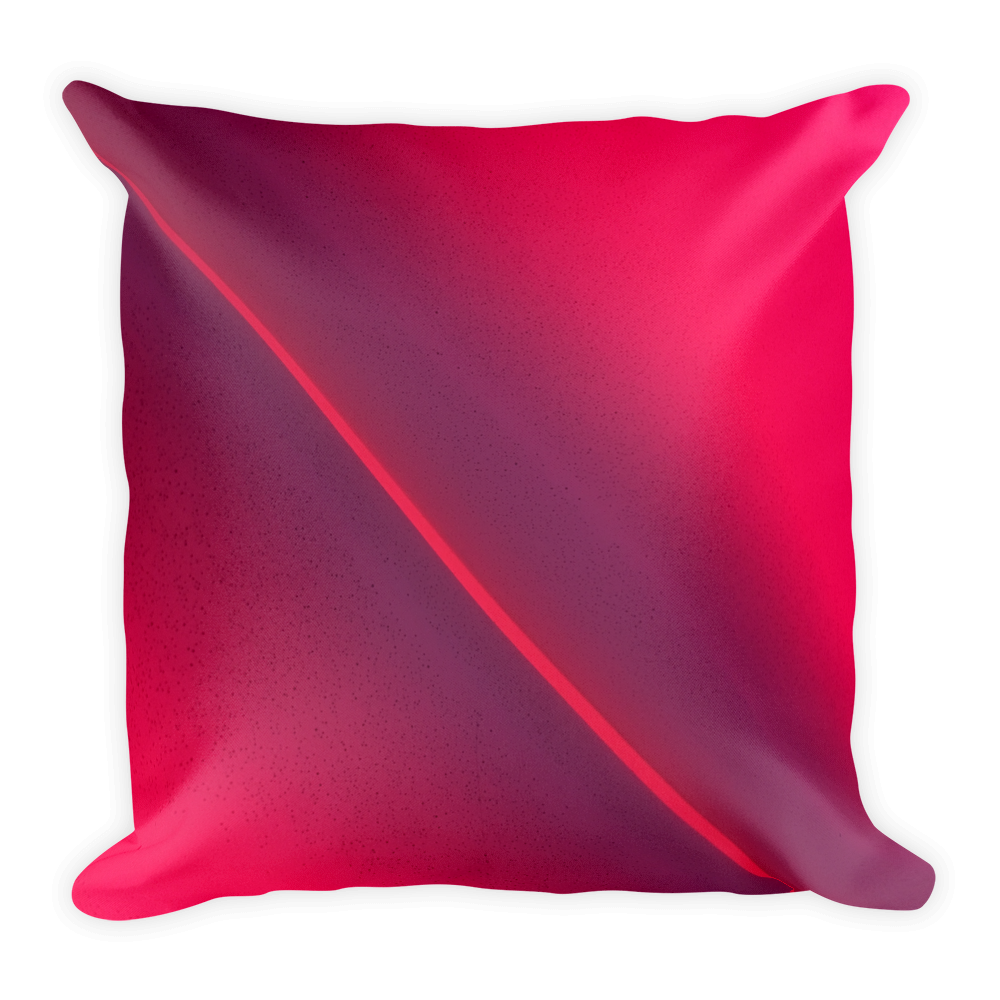 Pink Beam Pillow