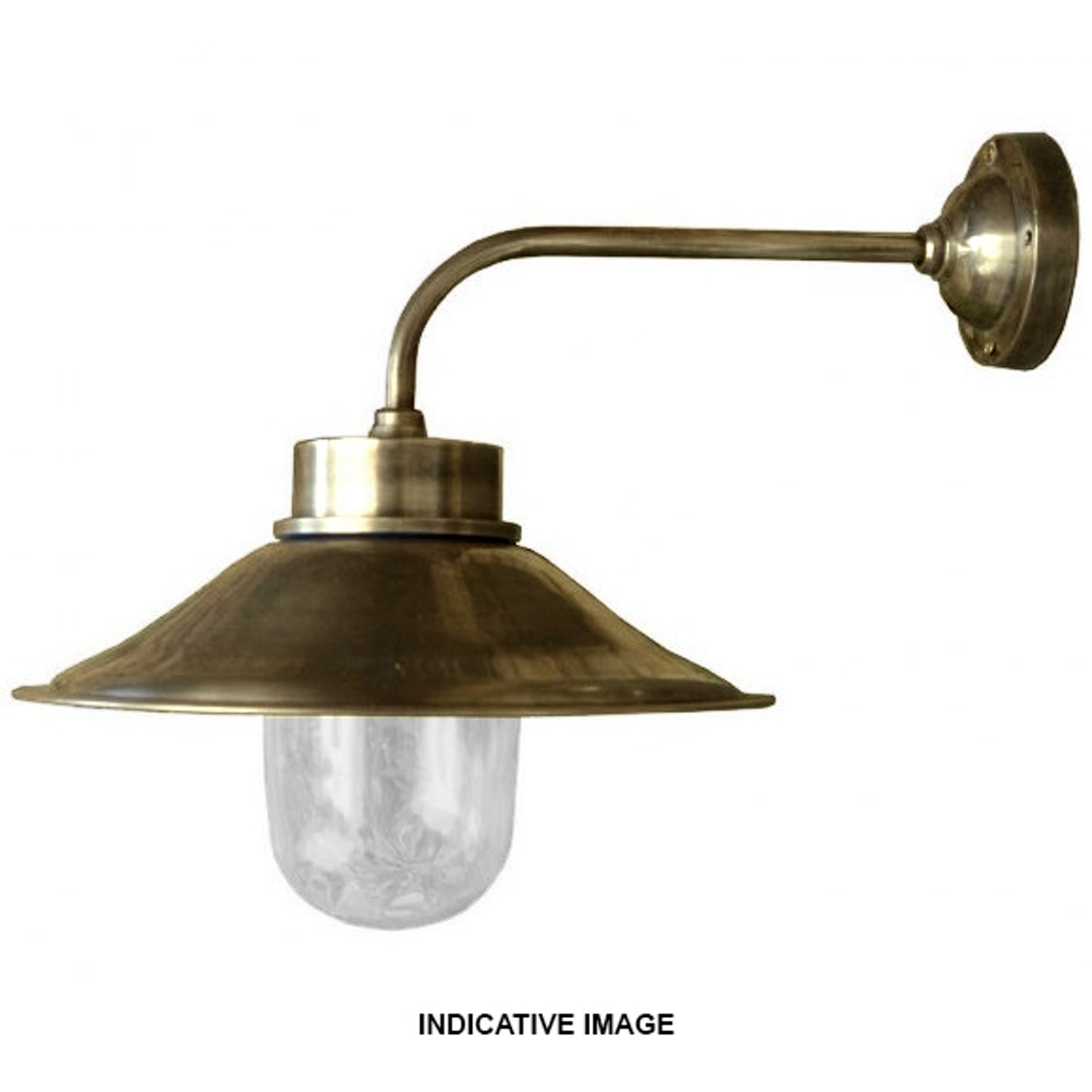 Cape Cod Brass wall light IP54