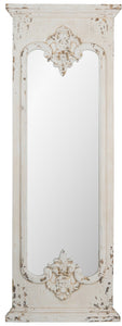 Distressed White Mirror SE2156