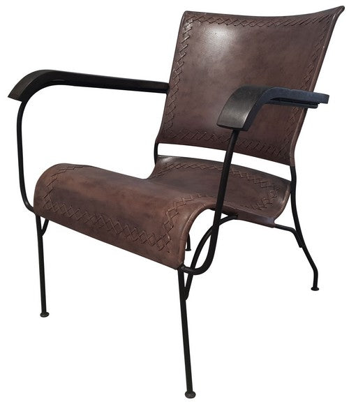 Leather armchair KC1116