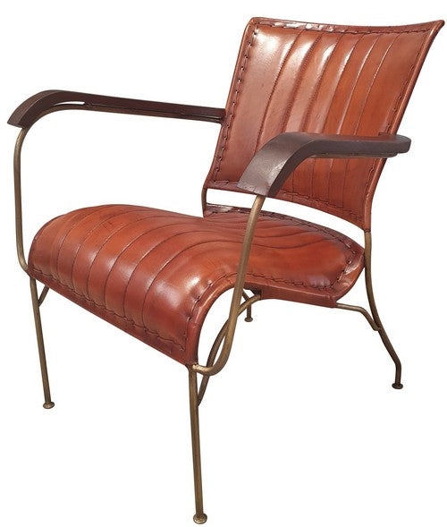 Leather armchair KC 1117