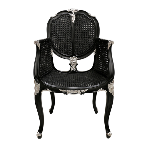 Venezia Mahogany And Cane Chair SKU CL 5185