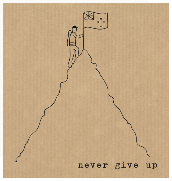 LCF036 - Never Give Up (6pack)