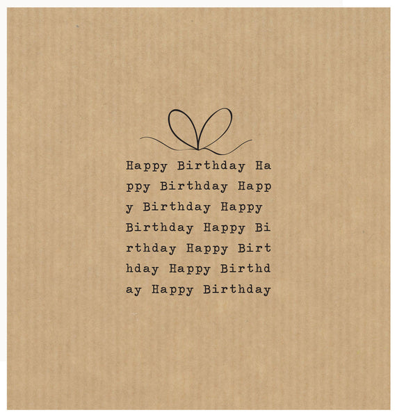 LCF042 - Happy Birthday Present Text (6pack)