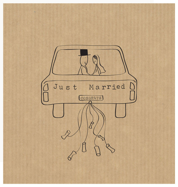 LCF075 - Just Married (6pack)