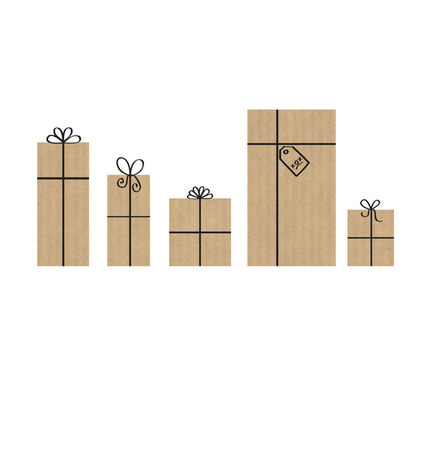 LCF095 - Row of Presents (6pack)