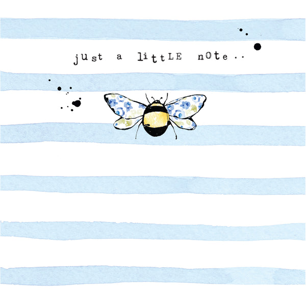 SSBB03 Just a little note Bees (6 pack)