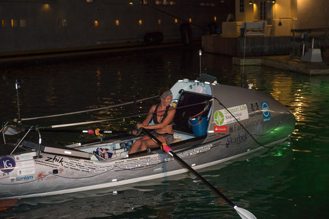 Novice rower smashes solo Atlantic record: 'I barely had any muscle soreness using CurraNZ, which is unheard of'