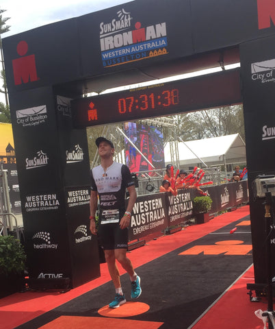 Not even sharks, kangaroos or bush fires keep our 'Downunder' ambassadors from excelling in Ironman Western Australia