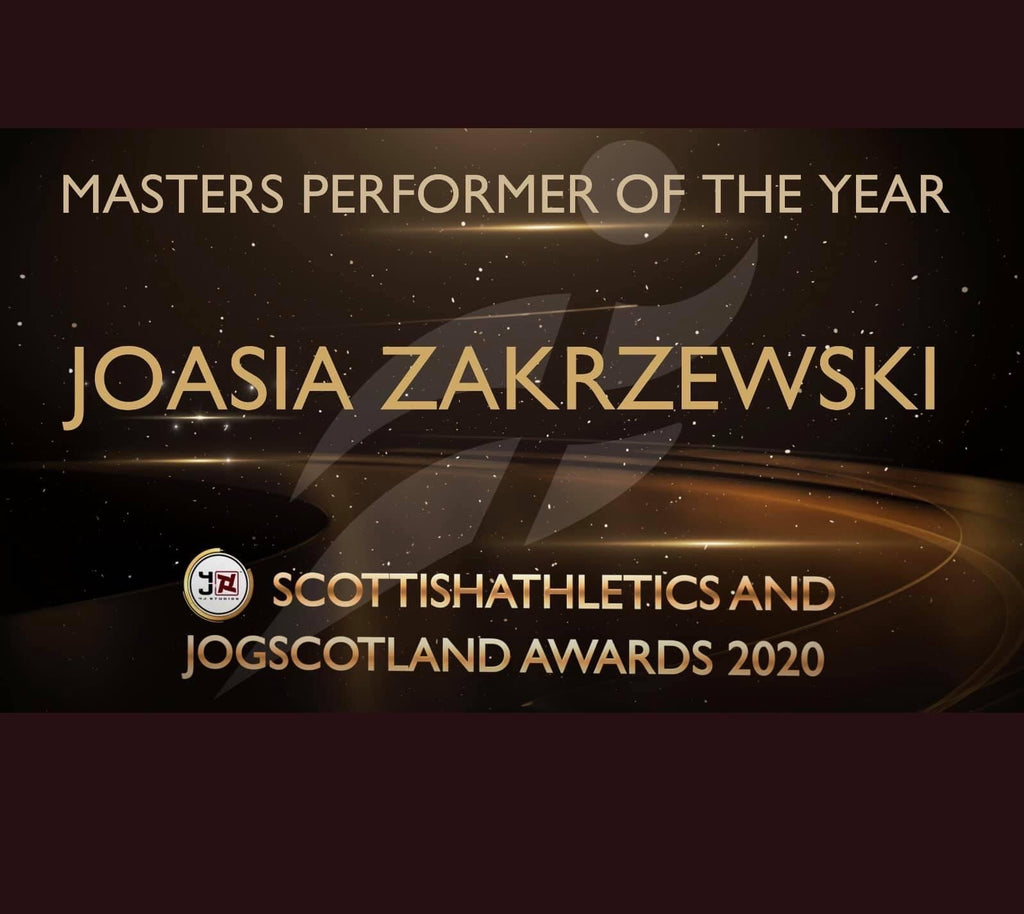 CurraNZ athlete crowned Scottish Athletics Masters Performer of the Year