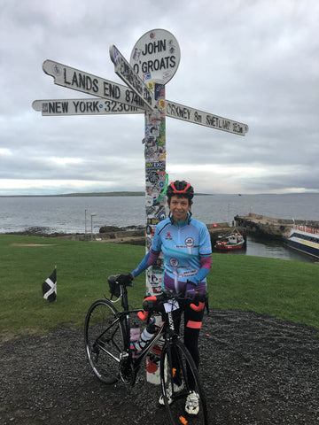 'I cycled the length of Britain in 12 days for my 60th birthday and had no muscle soreness thanks to CurraNZ'