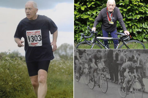 Triathlon fanatic aged 85 aims to keep going until he's 100 - The Mirror