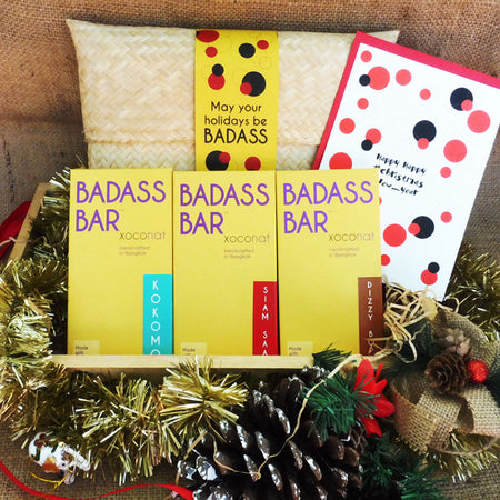 May Your Holidays Be Badass: Badass Bar Set