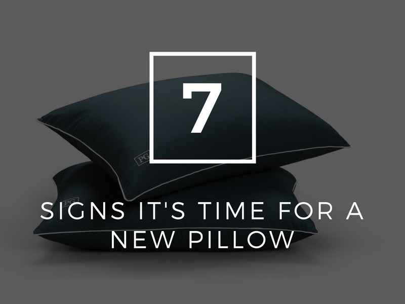 7 Signs it's Time For a New Pillow