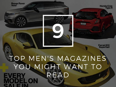9 Top Men's Magazine You Might Want To Read