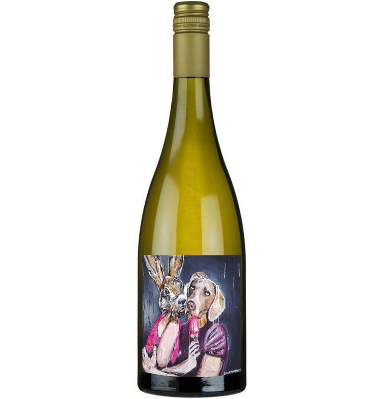 Gillie and Marc Wine - Gillie and Marc 2016 Chardonnay, Barossa Valley, Rabbitgirl and Dogman Wine, Buy Art Wine