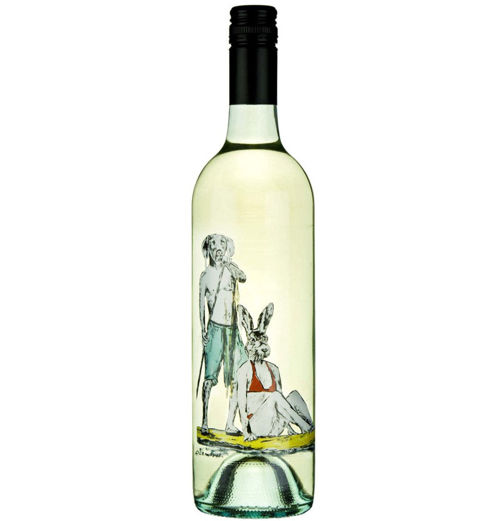 Gillie and Marc Wine - Gillie and Marc 2016 Pinot Grigio, Victoria, Rabbitgirl and Dogman Wine, Buy Art Wine