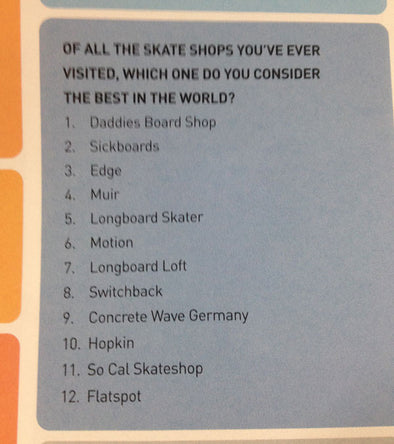Hopshop voted one of the top ten skateshops in the world