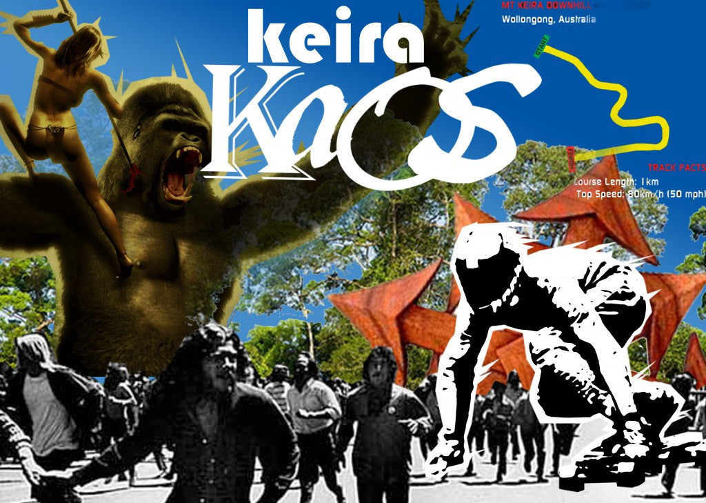 Keira Kaos, the epic first Freeride