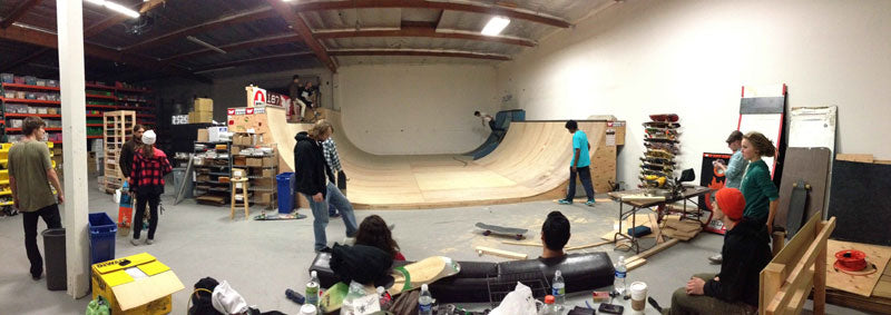 Mega mini ramp