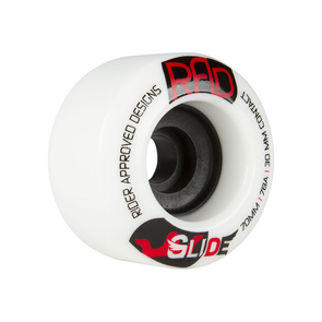RAD Glide 70mm 78a longboard wheels