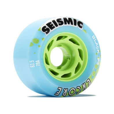 Seismic Encore 63.5mm 79a BlackOps longboard wheels