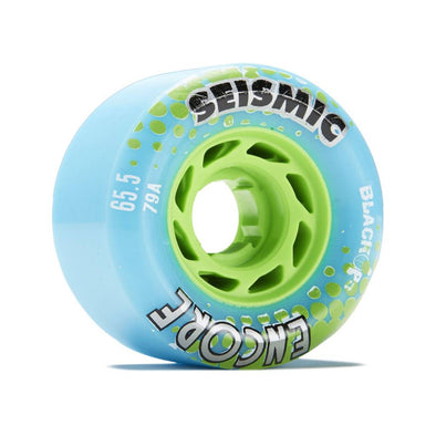 Seismic Encore 65mm 79a BlackOps longboard wheels