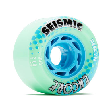 Seismic Encore 65.5mm 80a Defcon Mint longboard wheels