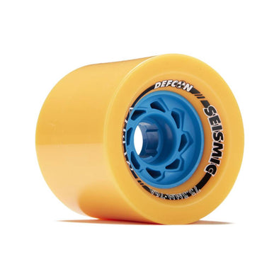 Seismic Alpha 75.5mm 76a Defcon Mango longboard wheels
