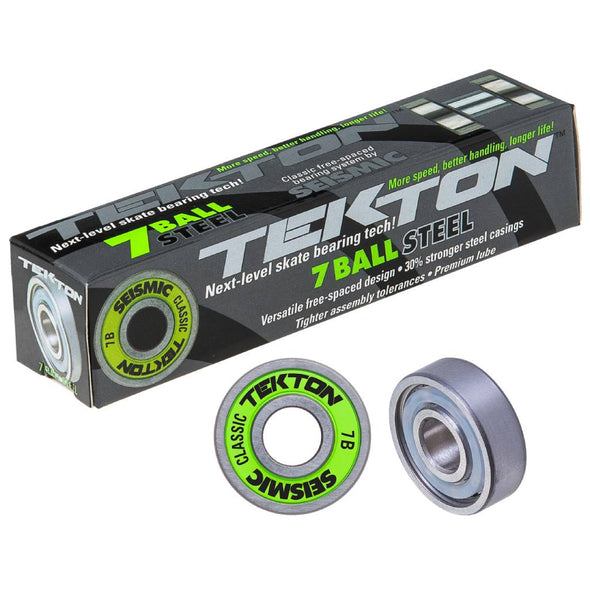 Seismic Tekon 7-Ball Steel Classic skateboard bearings