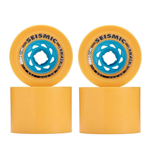 Seismic Alpha 80.5mm x 61mm 76a Mango downhill wheels