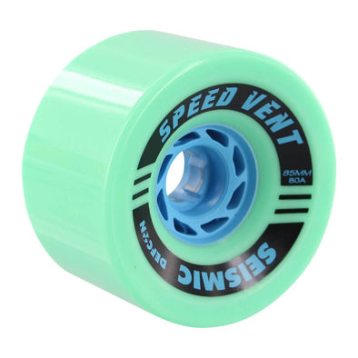 Seismic Speed Vent 85mm 80a mint longboard wheel