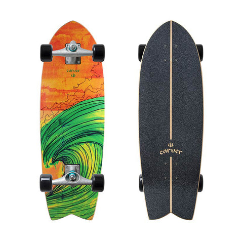 "Carver Swallow 29"" mini surfskate complete"