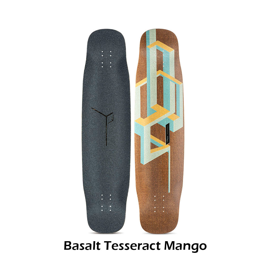 Loaded Basalt Tesseract longboard deck