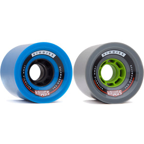 Hawgs Biggie 70mm longboard wheels